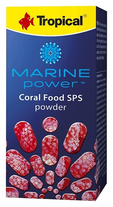 Tropical Marine Power Coral Food SPS Powder - 100ml/70g