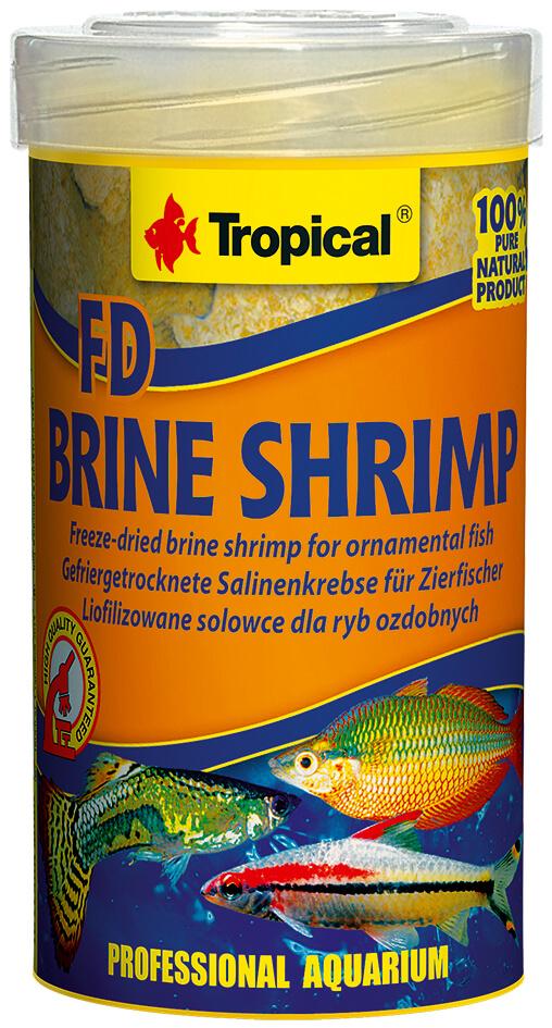 Tropical FD Brine Shrimp -  100ml/10g