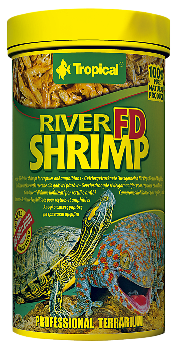 Tropical FD River Shrimp - 250ml/25g