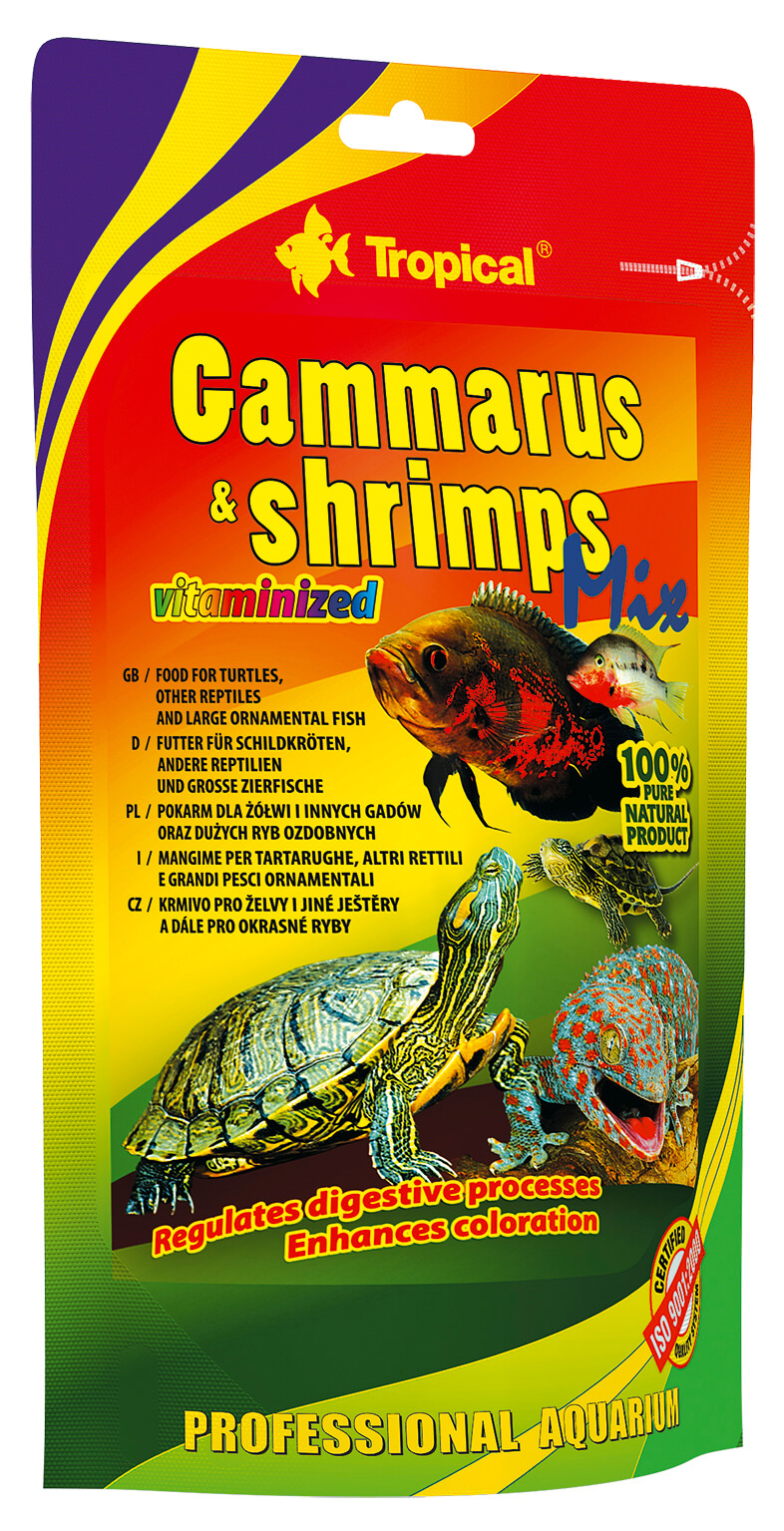 Tropical Gammarus&Shrimps Mix - 130g Pack