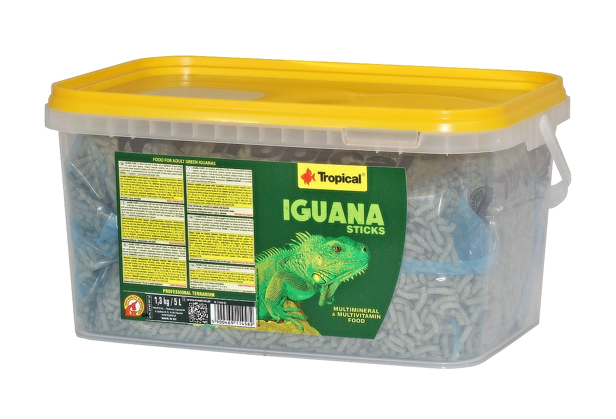 Tropical Iguana Sticks - 5 L/1,3 Kg