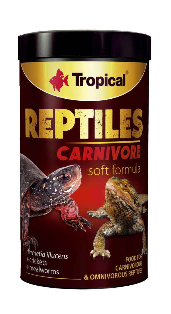 Tropical Reptiles Soft Carnivore - 1000ml/260g