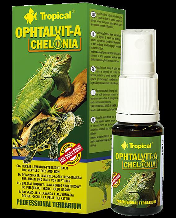 Tropical Ophtalvit-A Chelonia - 15ml