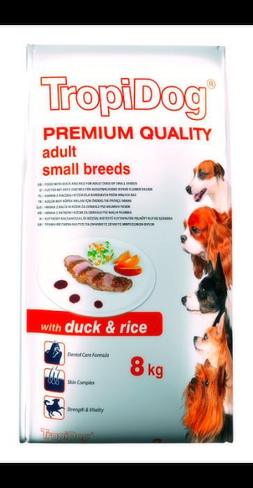Tropidog Premium Adult S Duck&Rice - 2,5 Kg