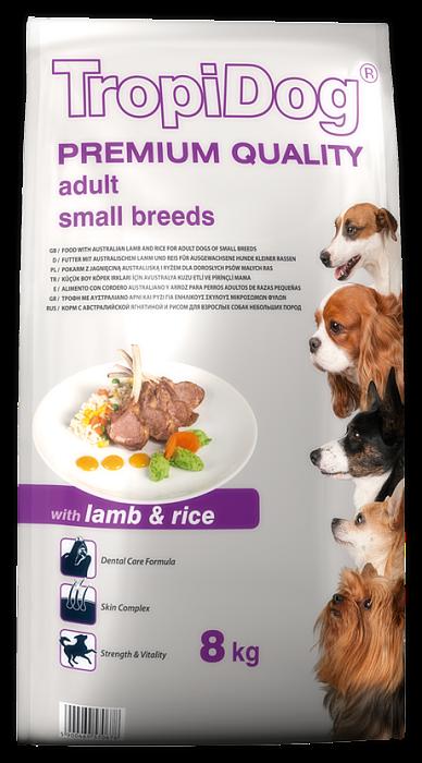 Tropidog Premium Adult S Lamb&Rice  - 500 g