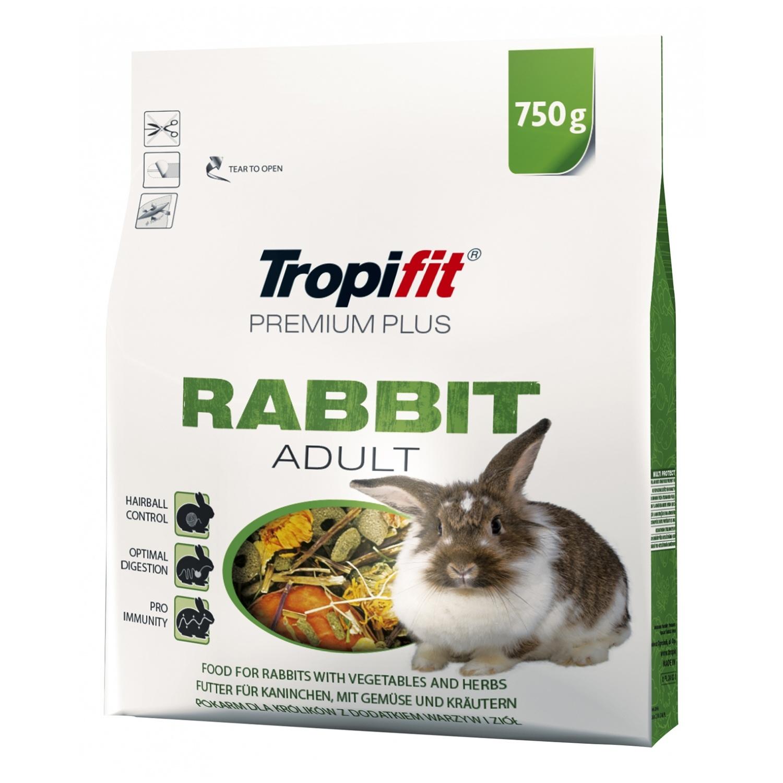 Tropifit Premium Plus Rabbit Adult  - 750g