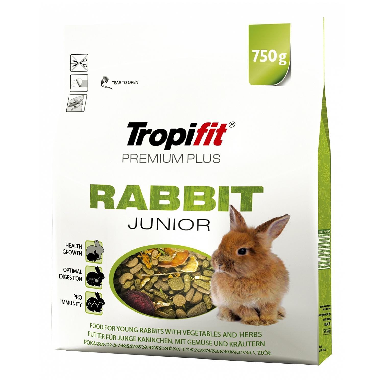 Tropifit Premium Plus Rabbit Junior  - 750g
