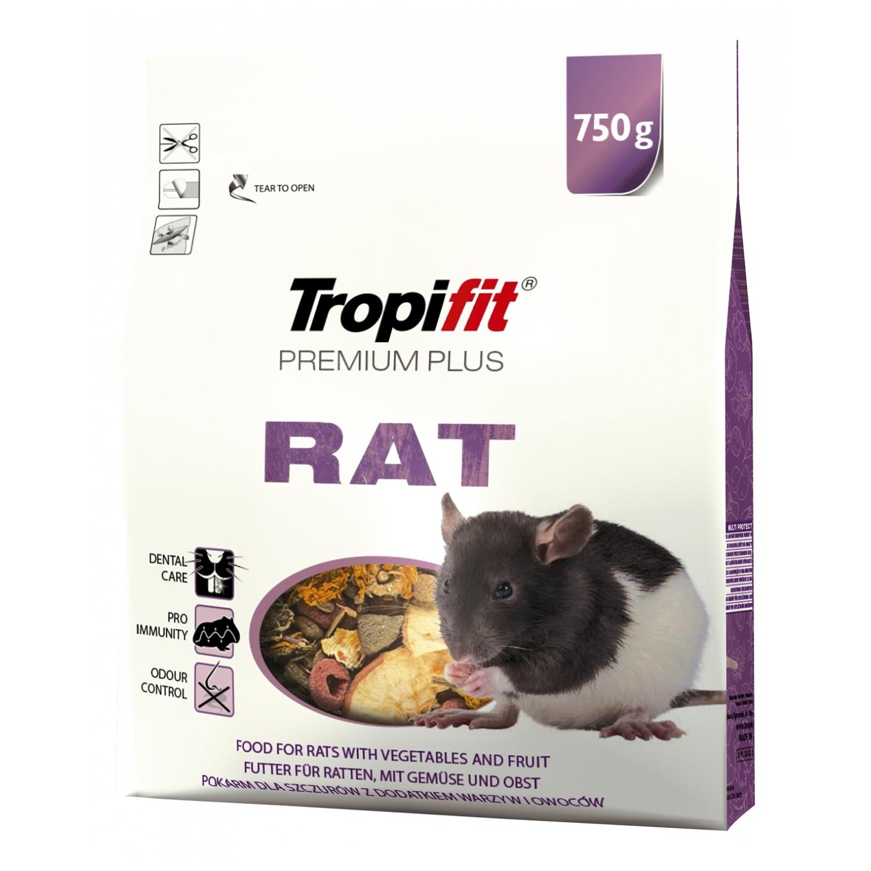 Tropifit Premium Plus Rat  - 750g