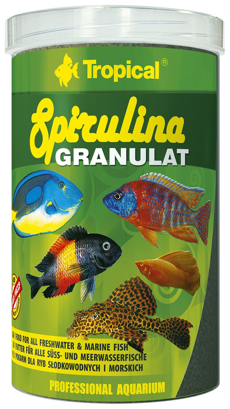 Tropical Spirulina Granulat - 1000ml/440g