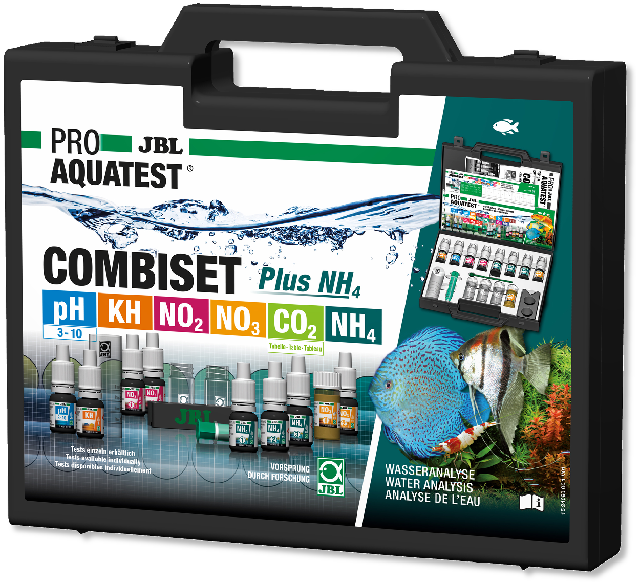 JBL ProaquaTest CombiSet Plus NH4