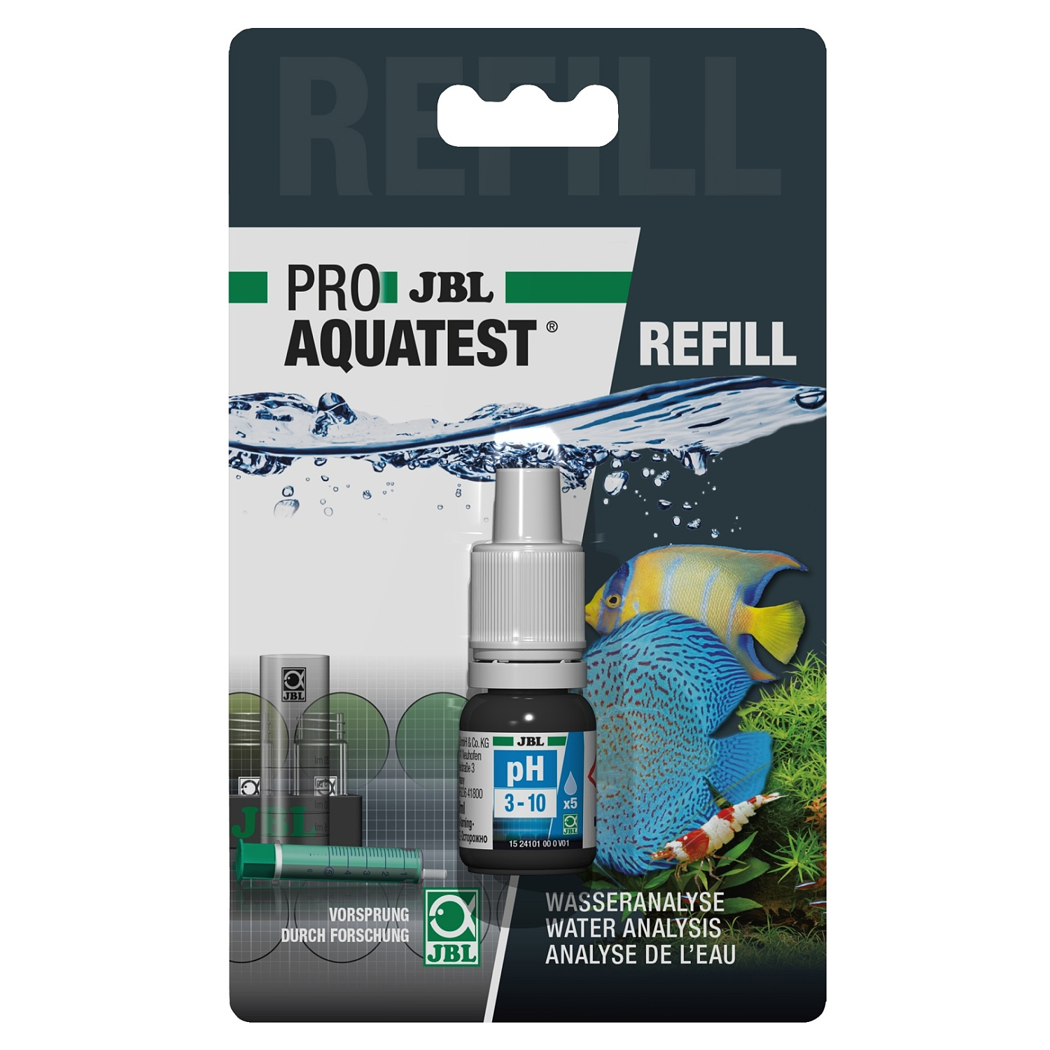 JBL ProaquaTest pH 3,0-10,0 Refill