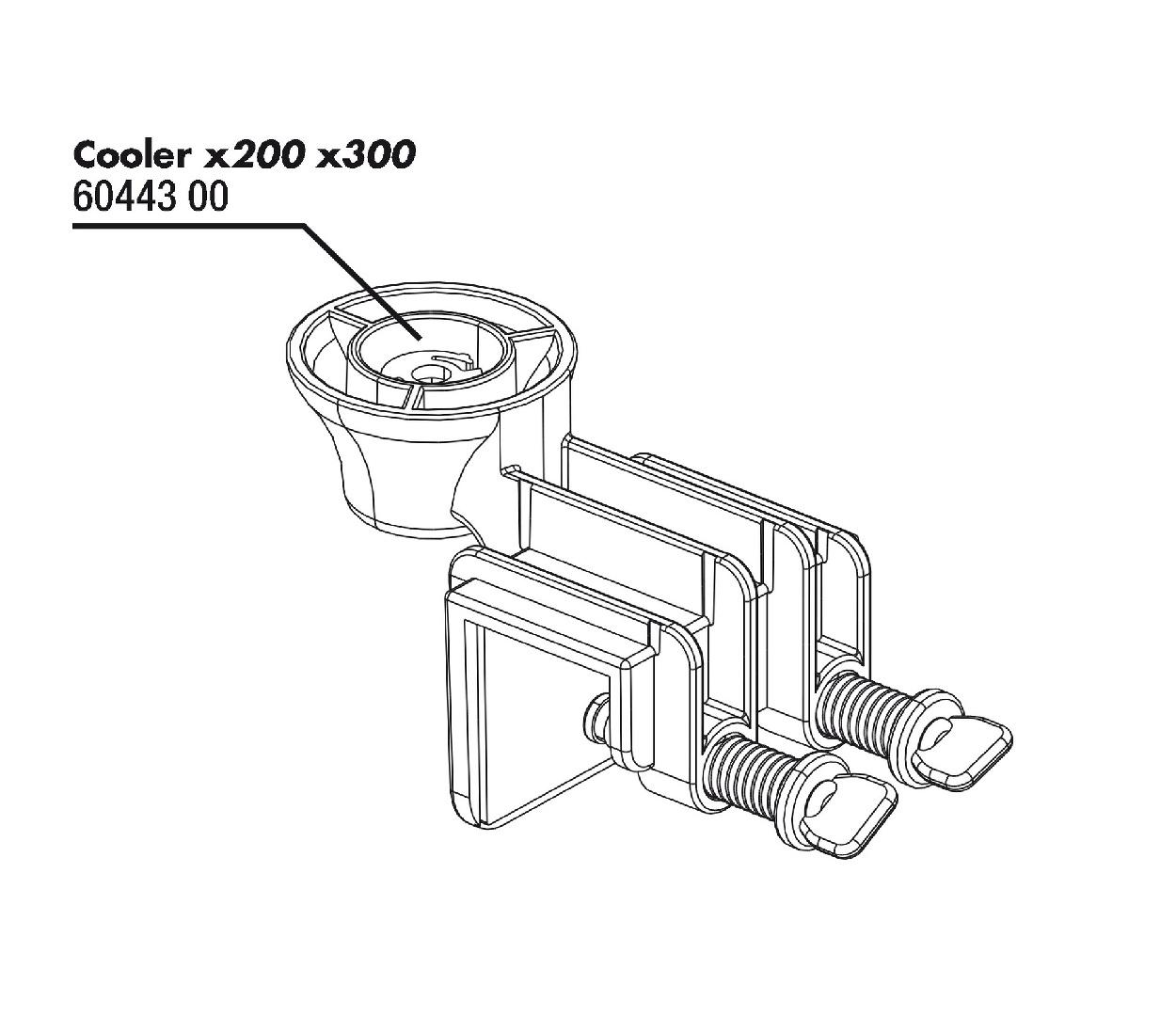 JBL PROTEMP Cooler x200/x300 upevnění