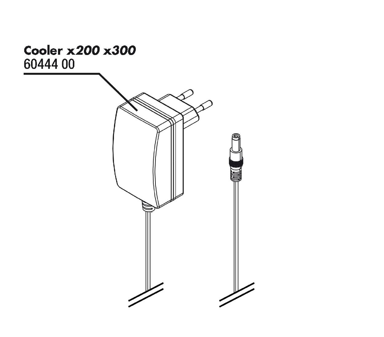 JBL ProTemp Cooler x200/x300 adaptér