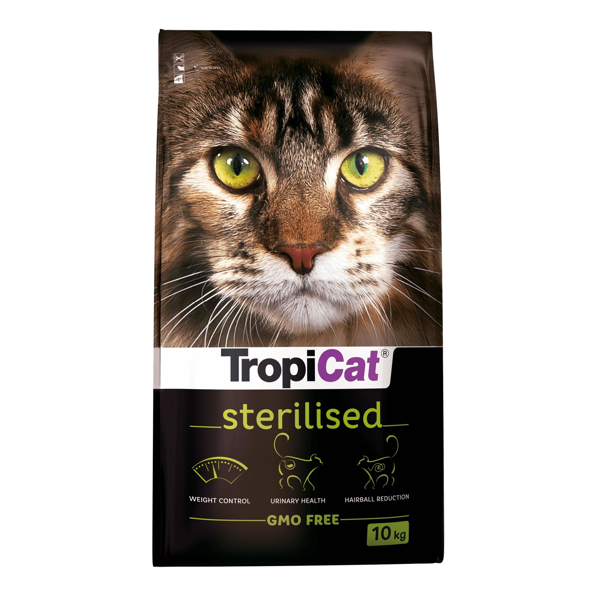 Tropicat Premium Sterilised - 10 Kg