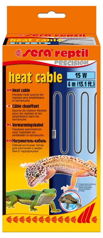 Sera Reptil heat cable 4m / 15W