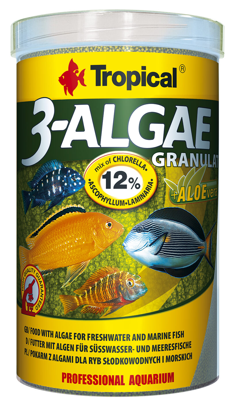 Tropical 3-Algae Granulat - 1000ml/440g