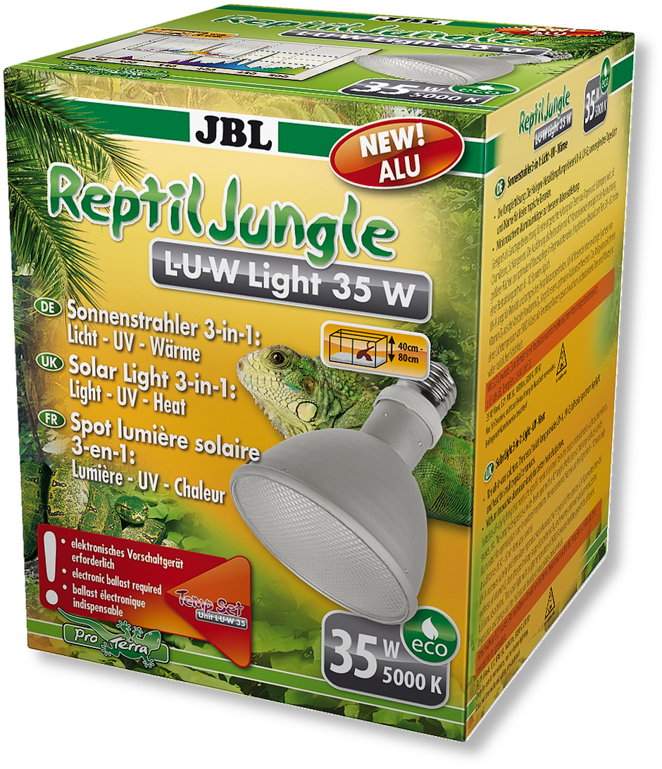JBL ReptilJungle L-U-W Light alu 35 W