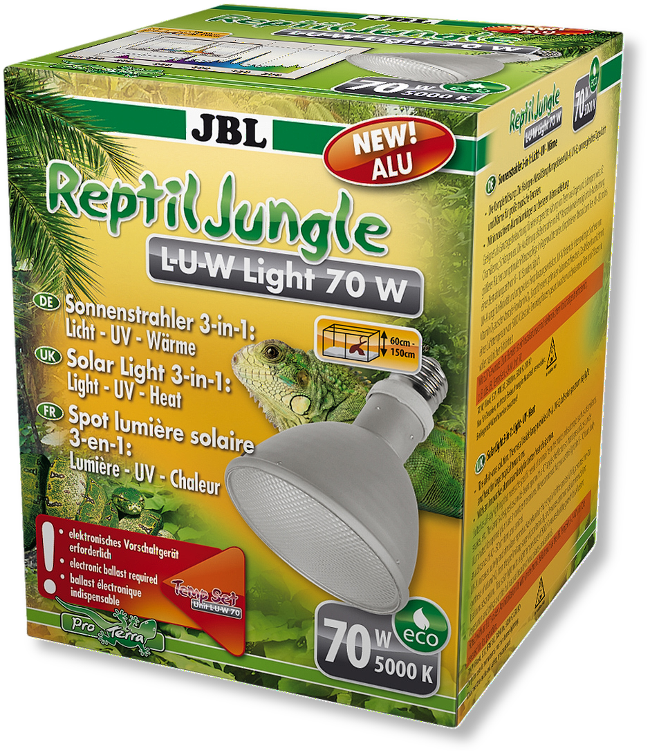 JBL ReptilJungle L-U-W Light alu 70 W
