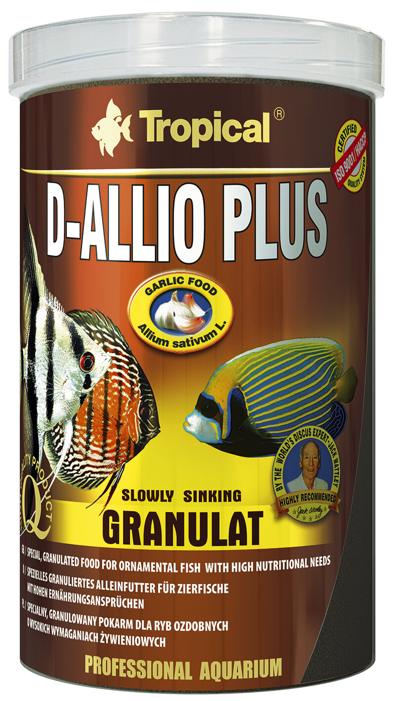 Tropical D-Allio Plus Granulat - 250ml/150g