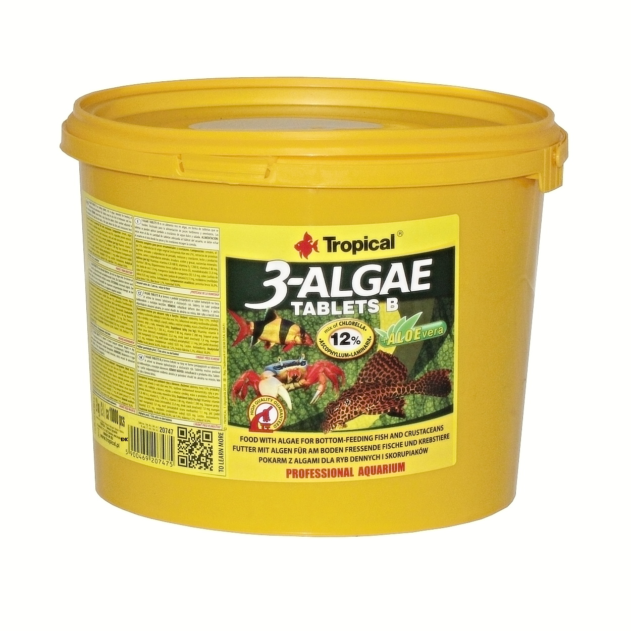 Tropical 3-Algae Tablets B - 2 Kg