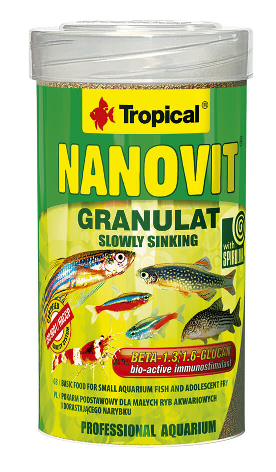 Tropical Nanovit Granulát - 250ml/175g