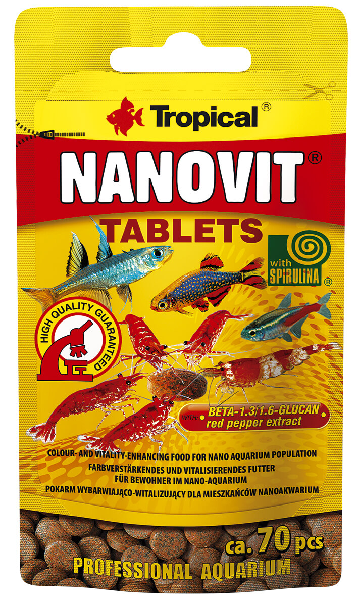 Tropical Nanovit Tablets - 10g