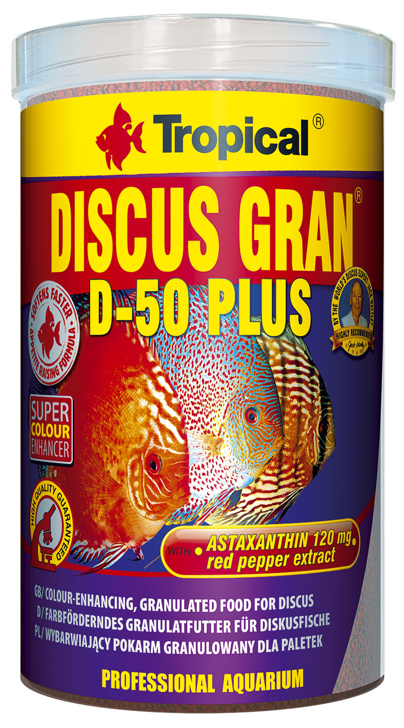 Tropical Discus Gran D-50 Plus - 1000ml/440g