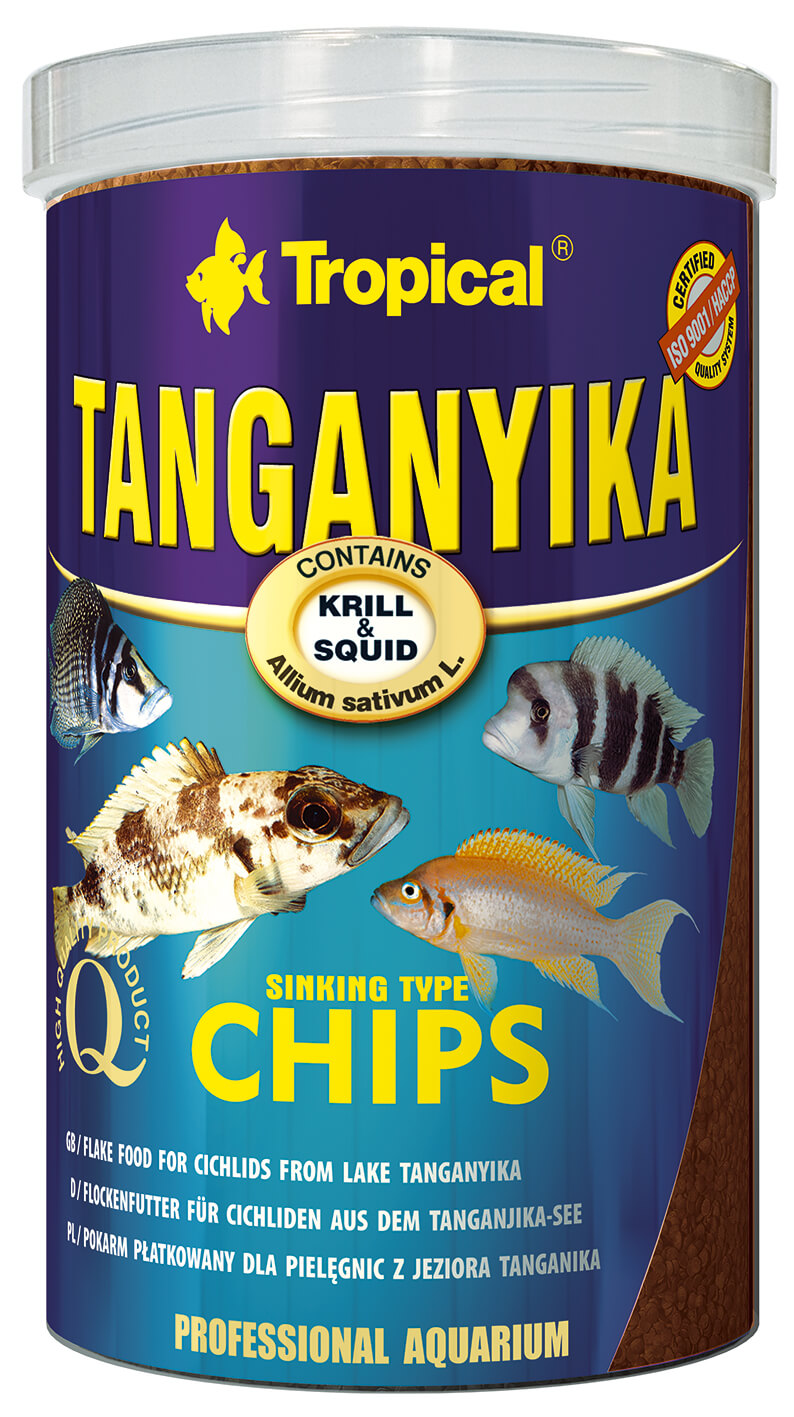 Tropical Tanganyika Chips - 1000ml /520g