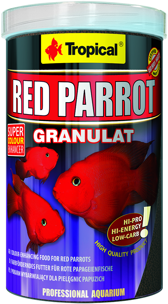 Tropical Red Parrot Granulat - 250ml /100g