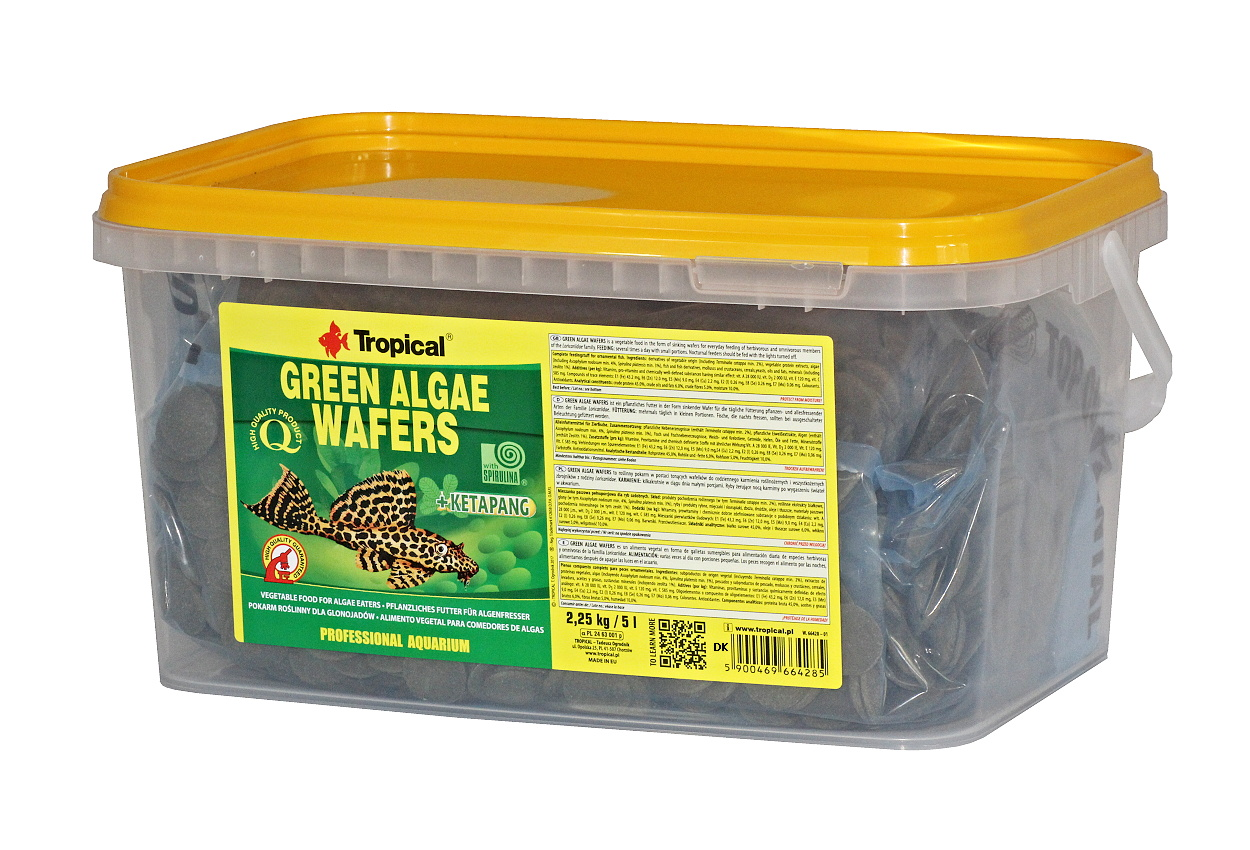 Tropical Green Algae Wafers - 5L/2,25kg