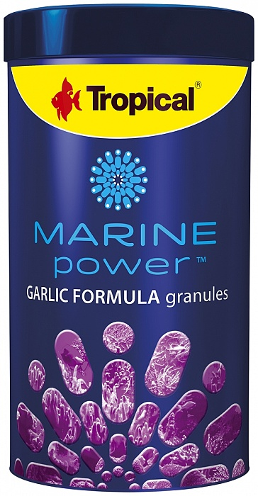 Tropical Marine Power Garlic Formula Granulát - 1000ml/600g