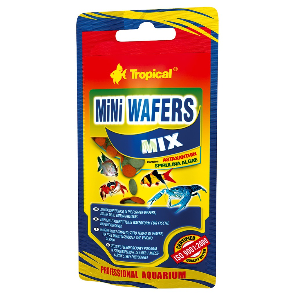 Tropical Mini Wafers Mix - doypack 90g